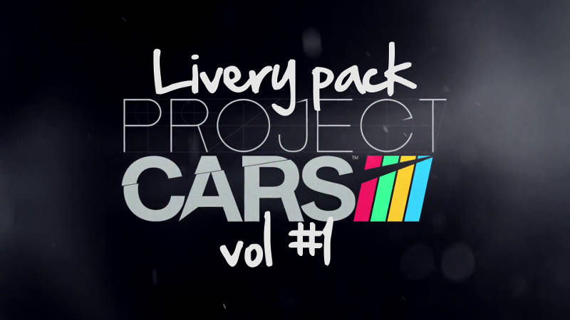 Project Cars livery pack vol1