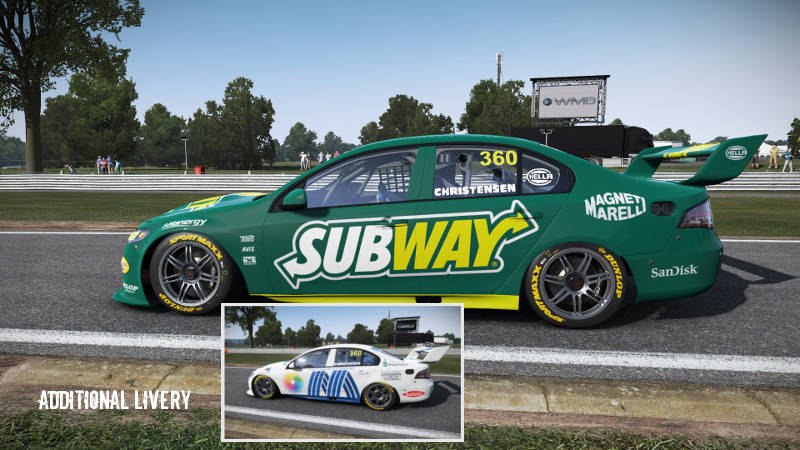 Ford Falcon V8 Subway